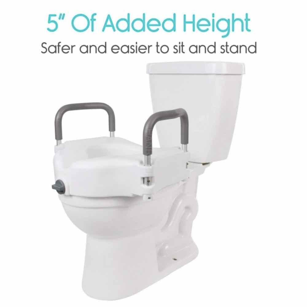 buy elevated toilet seat