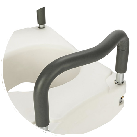 elevated toilet seat for elderly